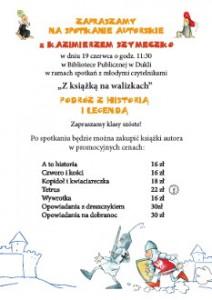 Plakat - Kazimierz Szymeczko